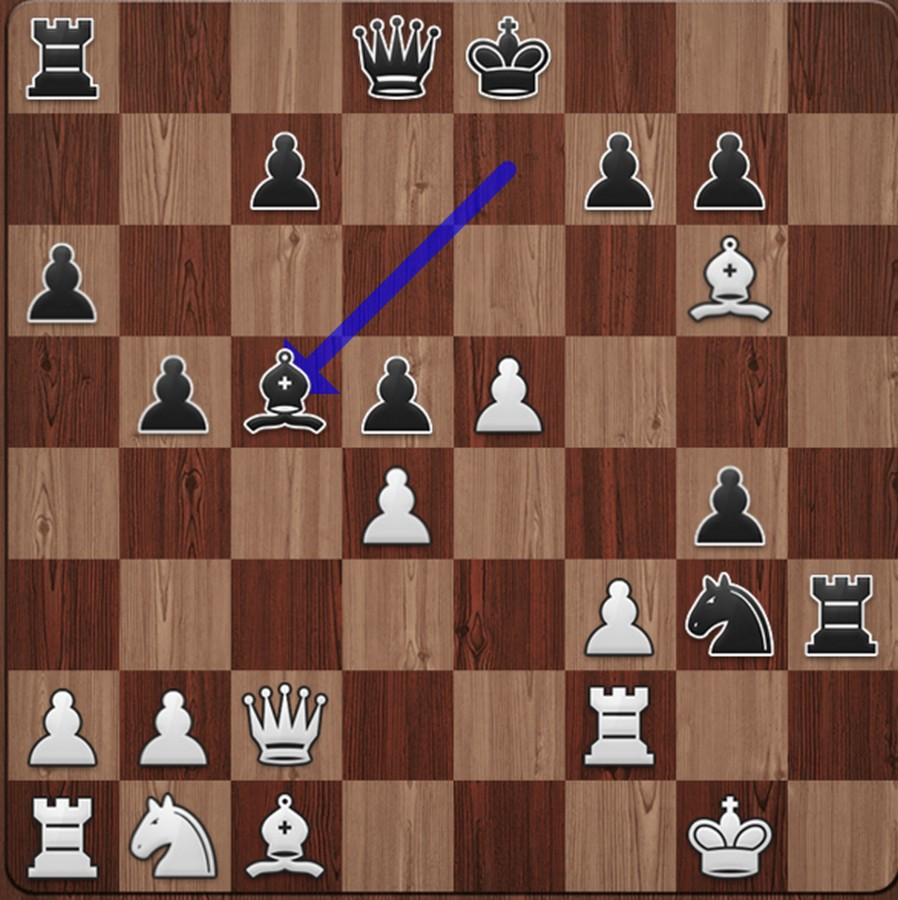 Nice 19.Bc5! is a key move which leads to a force draw after repetition